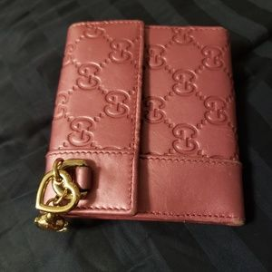 Pink Gucci Wallet